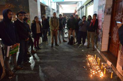 Velaton en Concepción por el asesinato de la pequeña