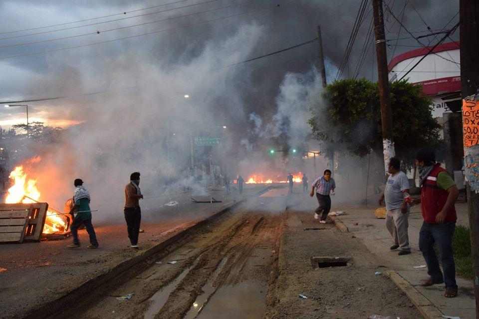 Reflexiones sobre la represiónOaxaca, México