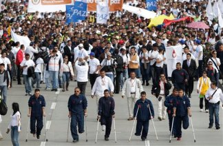 Colombia March for Peace