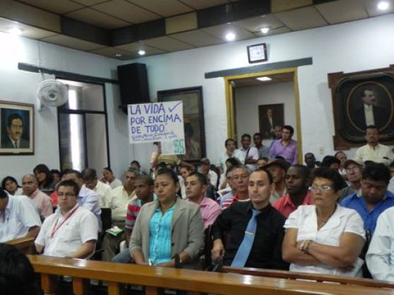 Asamblea en Santander 1
