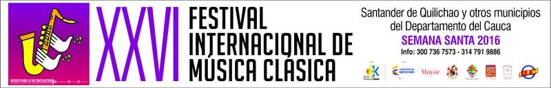 Pasacalle Festival Internacional de Música Clásica de Santander de Quilichao 2016