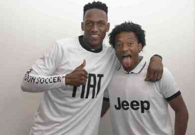 En video: El divertido baile de Juan Guillermo Cuadrado y Yerry Mina