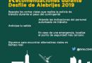 LA SECRETARÍA DE SEGURIDAD CIUDADANA ALISTA DISPOSITIVO POR DESFILE DE ALEBRIJES 2019
