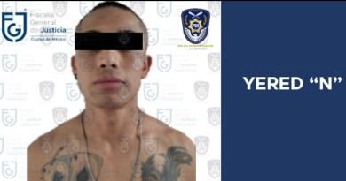 FGJCDMX APREHENDE A HOMBRE BUSCADO POR HOMICIDIO EN EL EDOMEX