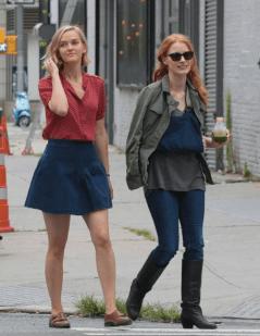 Jess Wexler y Jessica Chastain