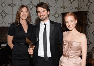 Kathryn Bigelow, Mark Boal y Jessica Chastain