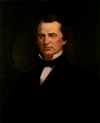 Andrew Johnson presidential portrait