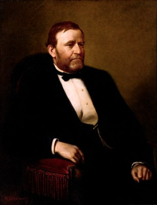 Ulysses S. Grant Official Portrait - The Periodic Table of the Presidents