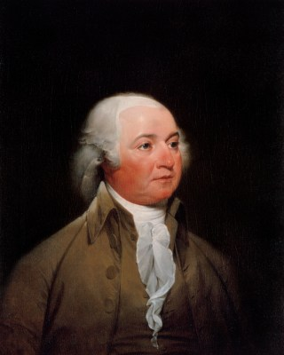 John Adams Official Portrait - The Periodic Table of the Presidents