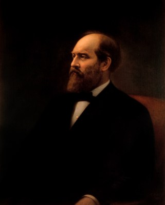 James A. Garfield Official Portrait - The Periodic Table of the Presidents