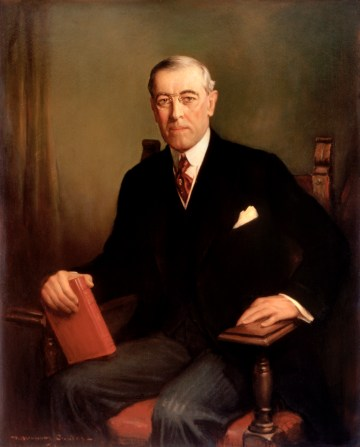 Woodrow Wilson Official Portrait - The Periodic Table of the Presidents