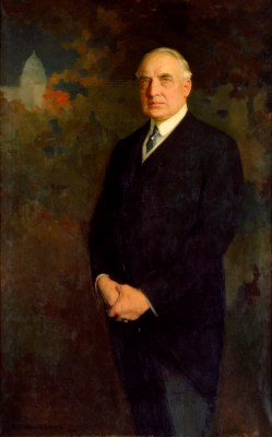 Warren G. Harding Official Portrait - The Periodic Table of the Presidents