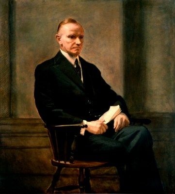 Calvin Coolidge Official Portrait - The Periodic Table of the Presidents