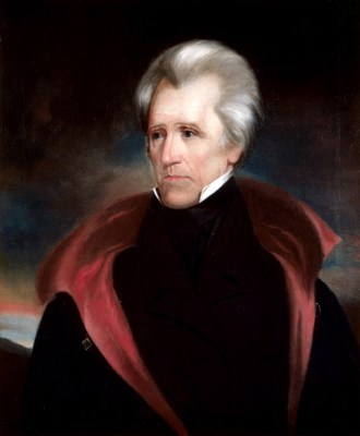 Andrew Jackson Official Portrait - The Periodic Table of the Presidents