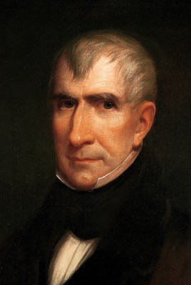 William Henry Harrison Official Portrait - The Periodic Table of the Presidents