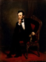 Abraham Lincoln by George Peter Alexander Healy