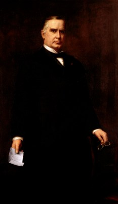 William McKinley Official Portrait - The Periodic Table of the Presidents