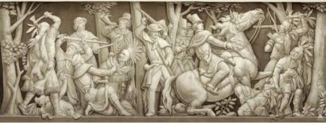 The Death of Tecumseh, painting in the U.S. Capitol Rotunda