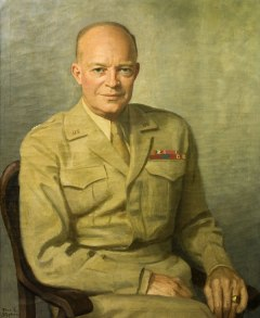 Eisenhower Portrait in Army Uniform Thomas E. Stevens, 1948