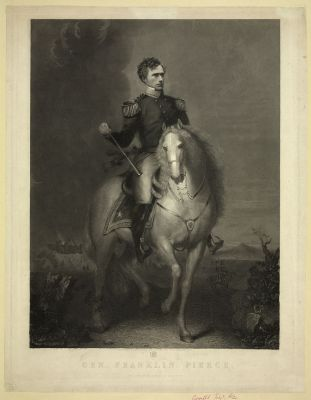Gen. Franklin Pierce - designed and engraved on steel by W.L. Ormsby, N.Y., c.1852 - Library of Congress