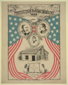 Protection to home industry 1888 by Joseph A. Burrows c.1888 - LOC