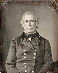 Zachary Taylor Daguerreotype c. 1843-45