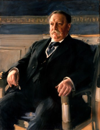 William Howard Taft Official Portrait - The Periodic Table of the Presidents