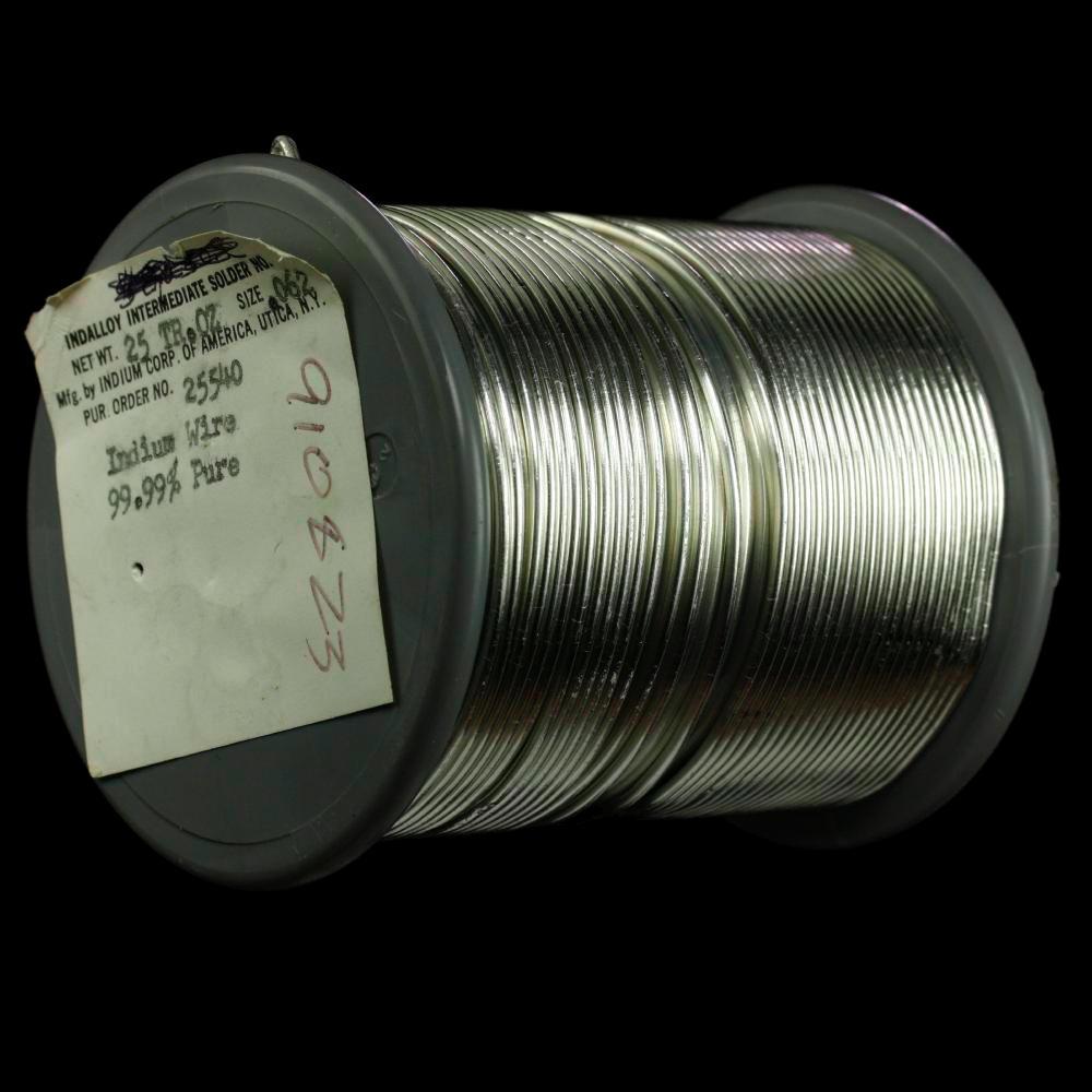 hight resolution of indium spool of indium wire