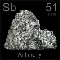 Pictures, stories, and facts about the element Antimony in the Periodic  Table