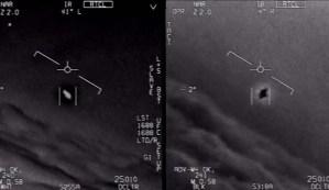 Un informe filtrado del Pentágono confirma un encuentro entre aviones de combate y un OVNI