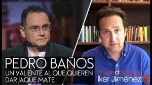 """Pedro Baños, un valiente al que quieren dar """"Jaque Mate"""""""