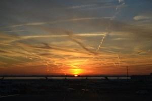 Avistamiento masivo de chemtrails en los cielos de Jerez de la Frontera
