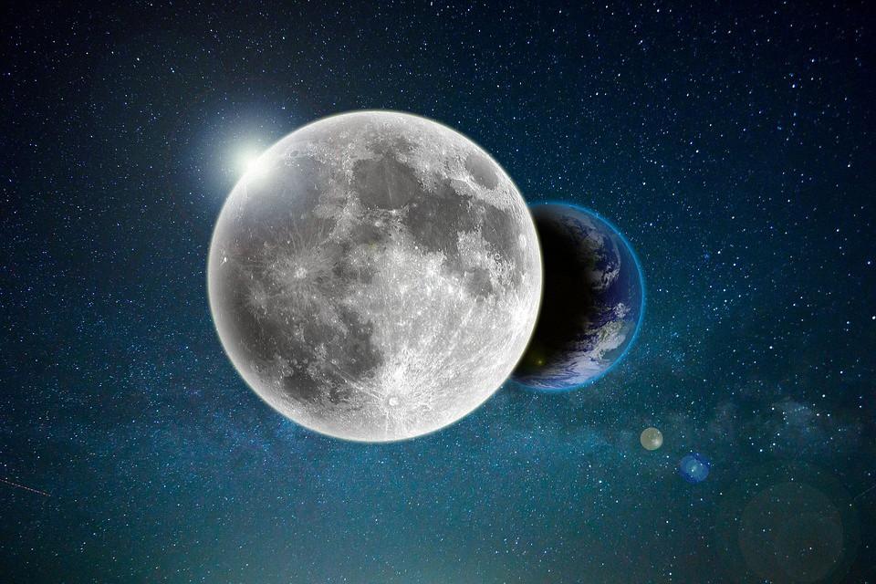 Descubren que la Luna orbita dentro de la atmósfera de la Tierra y no fuera