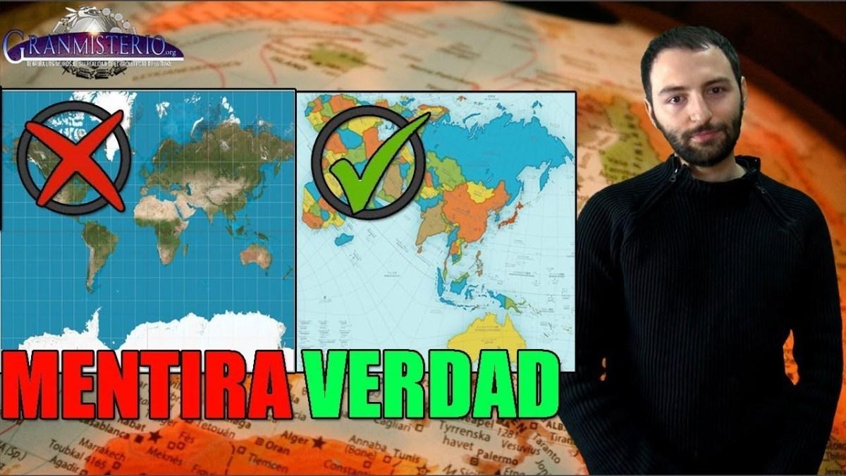 La mentira de los mapas del mundo - Están mal y nos han engañado