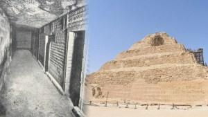 La misteriosa pirámide de Zoser y su inesperado contenido