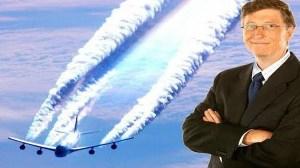 Bill Gates empezó a rociar chemtrails en el mundo