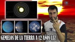 Descubren un sistema planetario cercano con varias tierras gemelas