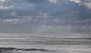Aparece una ciudad flotante cerca de las costas de Barcelona