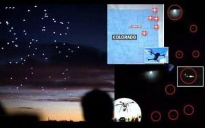 Misteriosos enjambres de drones gigantes aparecen en las noches en Colorado y Nebraska, y nadie sabe de dónde vienen