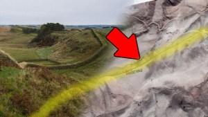 Descubierto antiguo muro de 115 km de origen desconocido