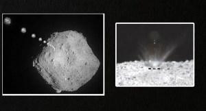 ¿Por qué los japoneses bombardearon un asteroide y qué encontraron?