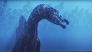 Científicos encuentran la primera evidencia de un dinosaurio acuático