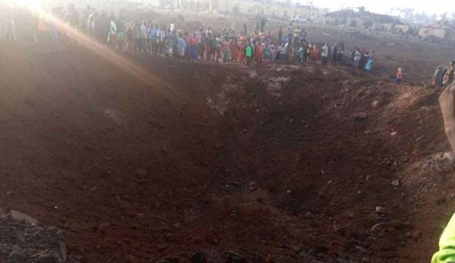 Un meteorito impacta en Nigeria y provoca un enorme cráter