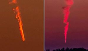 Extraños objetos están cayendo del cielo en todo el mundo y nadie sabe lo que son