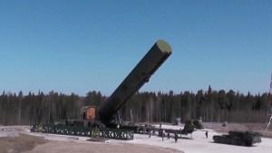 """Kremlin: """"Rusia nunca puede ser y no será el iniciador del uso de armas nucleares"""""""