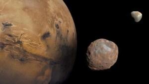 Marte tuvo un anillo en el pasado y quizás vuelva a tenerlo en el futuro