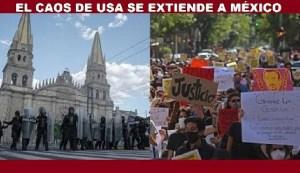 El caos se extiende a México: Justicia para Giovanni