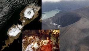 Equipo de científicos e historiadores han encontrado el enigmático volcán culpable de la caída de la República de Roma