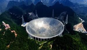 El telescopio FAST de China detecta una nueva misteriosa señal desde el espacio