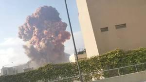 Líbano: Varios muertos y cientos de heridos tras potentes explosiones en Beirut